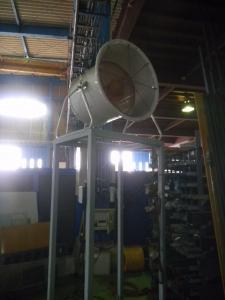 巨大送風機