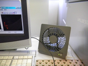 mini扇風機